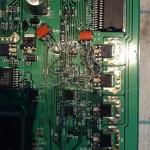 Замена электронного элемента на отечественный аналог по причине отсутствия в магазинах города