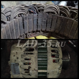 Suzuki SX4 генератор